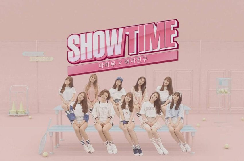 "MAMAMOO And GFRIEND Release Poster for ""Showtime"""