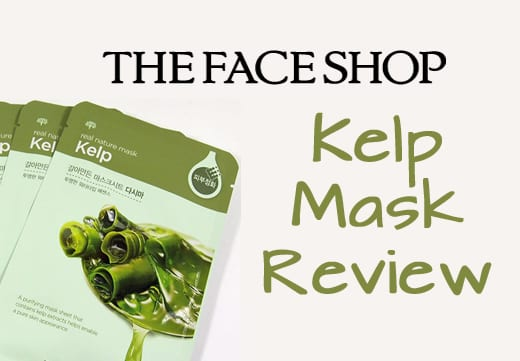 WTK Review: Kelp Real Nature Mask By THE FACE SHOP