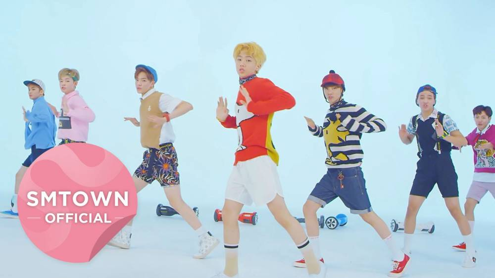 """NCT Dream Debuts With Colorful, Fun MV """"Chewing Gum"""""""