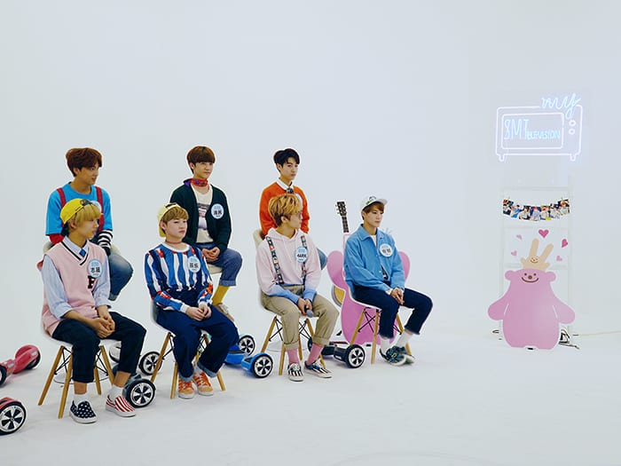 """""""MySMT"""" Releases Photos Of Leeteuk, Doyoung, And NCT DREAM For Upcoming Episode"""