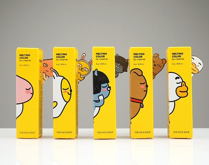 WTK Review: THE FACE SHOP Melting Color Lip Creamer (Kakao Friends Edition)