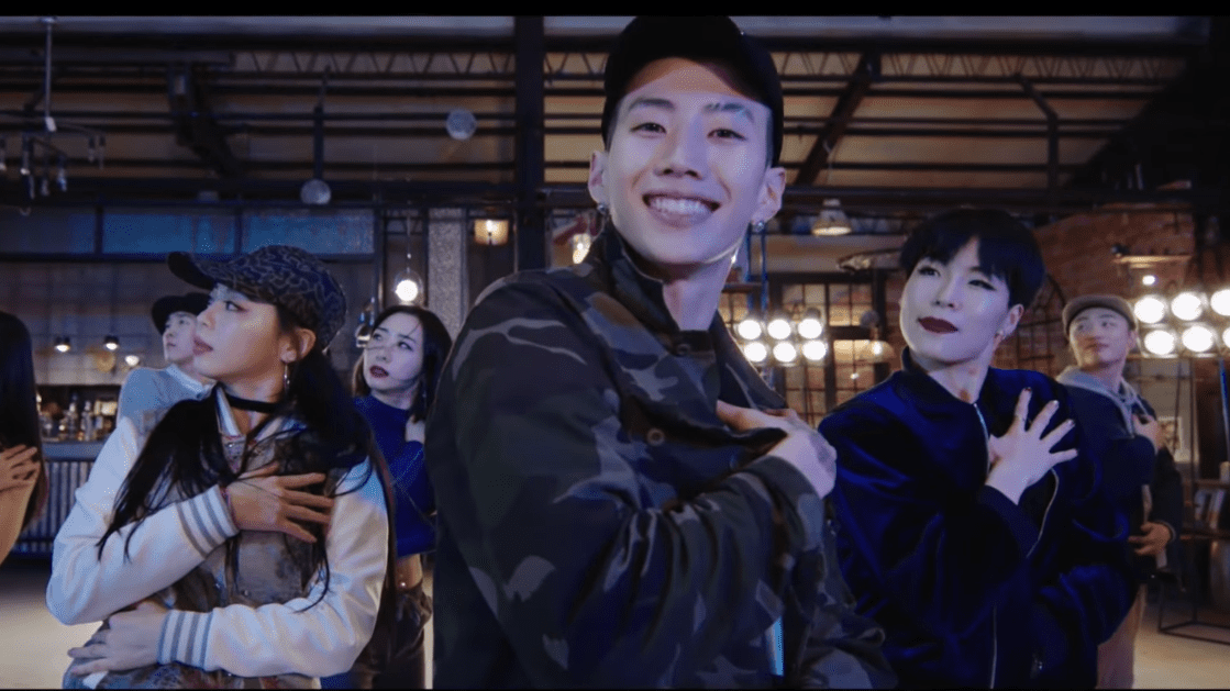 "Jay Park Is Kickin' It With 1MILLION Dance Studio In Dance Version For ""All I Wanna Do"""