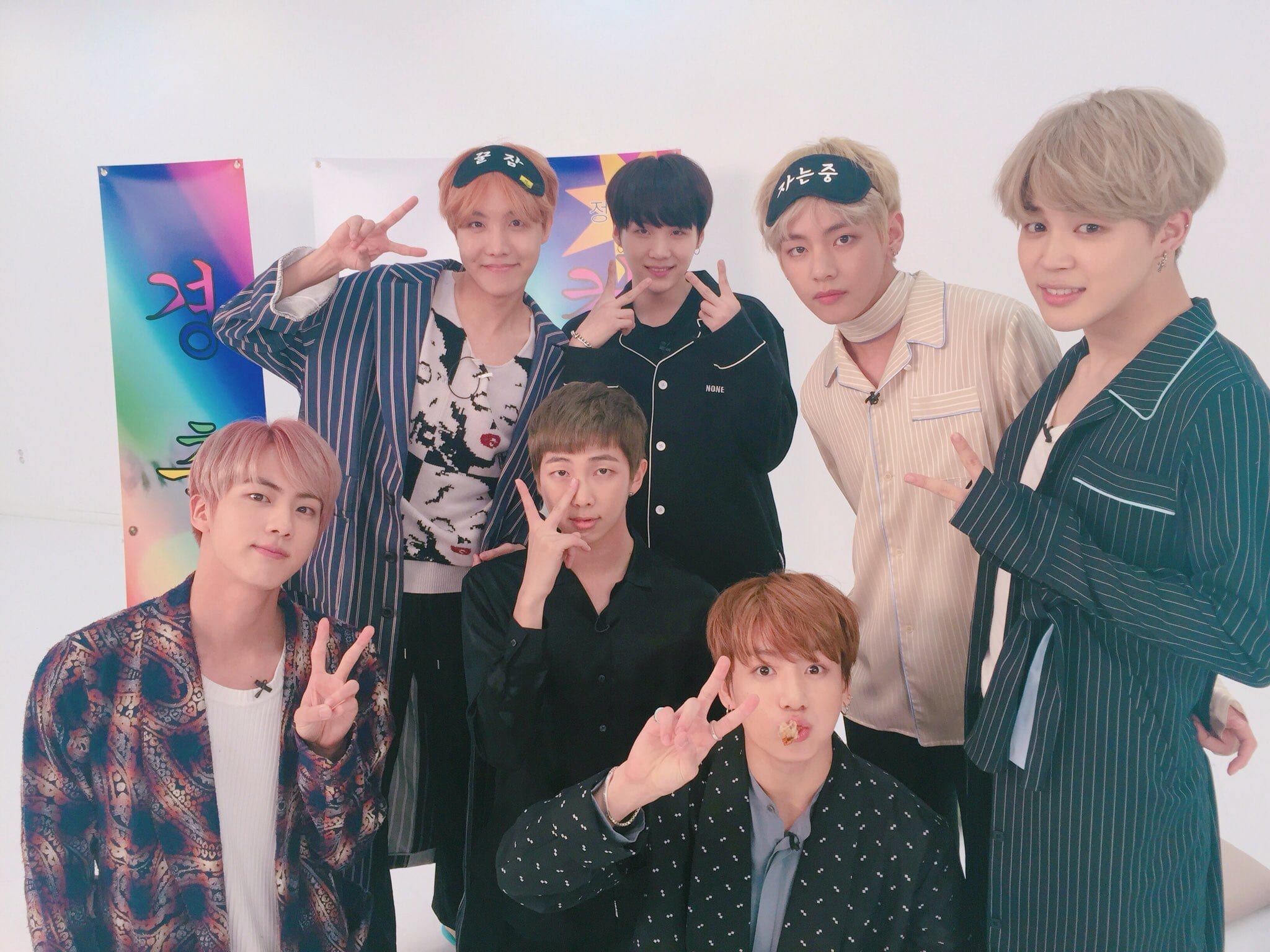 """WATCH: BTS Reacts To Their """"Blood Sweat & Tears"""" MV"""