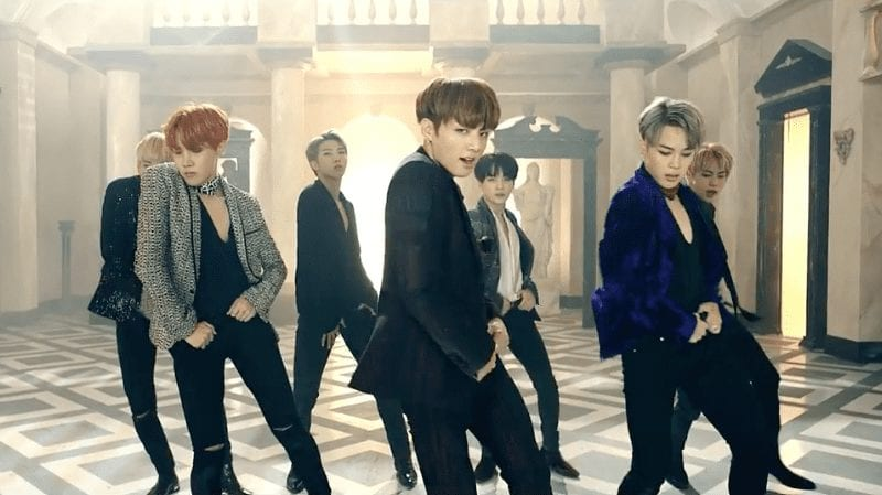 "BTS Achieves All-Kill Status With Stunning New MV ""Blood, Sweat & Tears"""