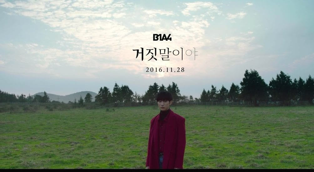"""B1A4 Releases Beautiful Teaser For New MV """"A Lie"""""""