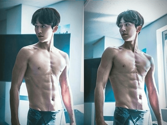 "MBC Reveals Stills Of A Shirtless Nam Joo Hyuk In ""Weightlifting Fairy Kim Bok Joo"""