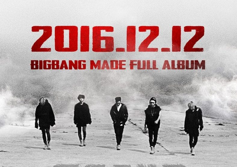 "BIGBANG Reveals Comeback Date For ""MADE"" Full Album"