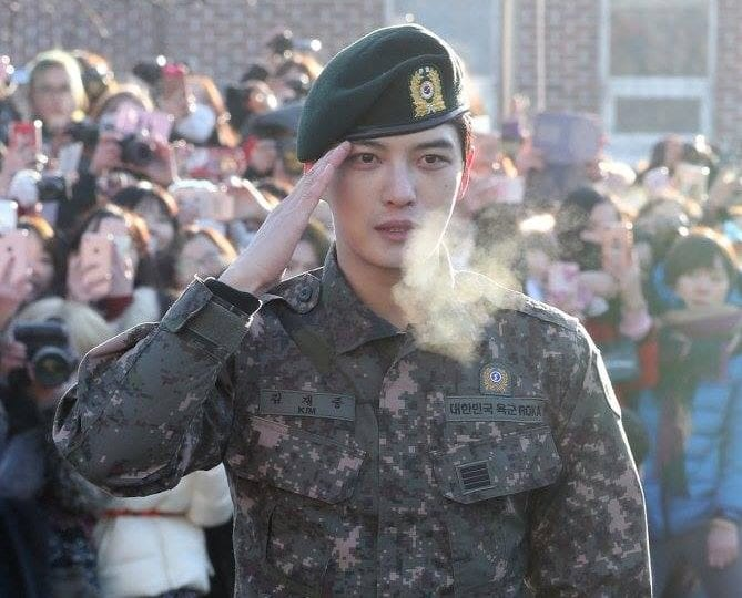JYJ's Jaejoong Finishes Military Service As Active Duty Soldier