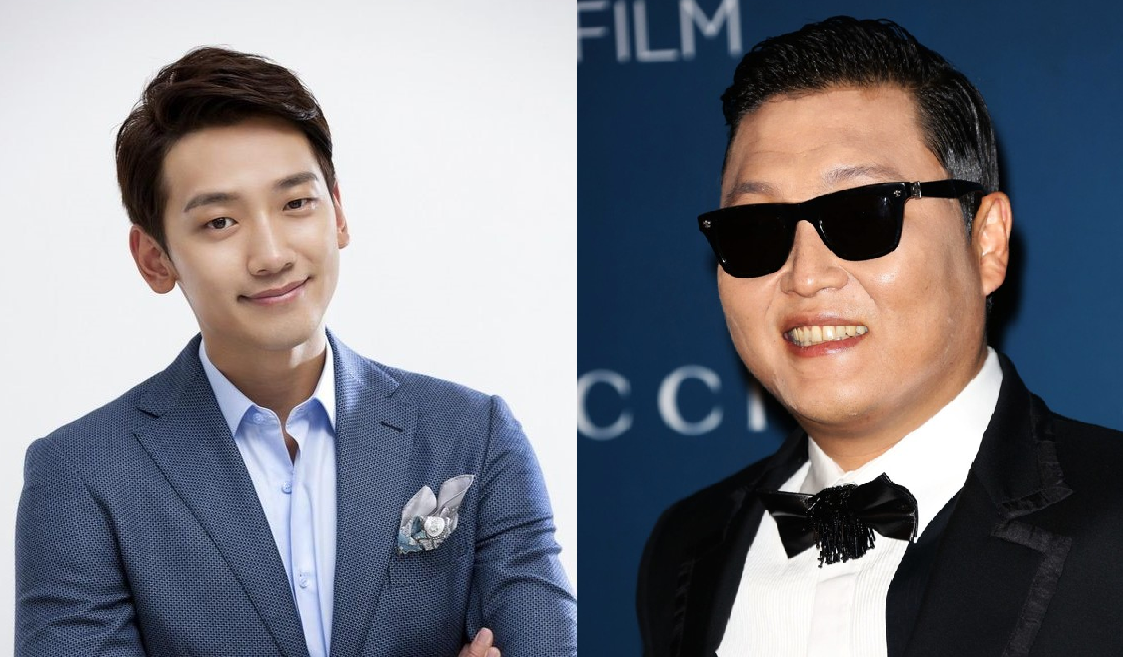Artists Rain And PSY Announce Collaboration