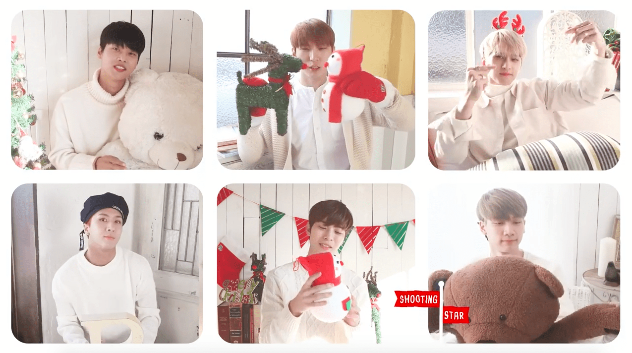 """VIXX Gifts Fans With Christmas Version Of """"Shooting Star"""" MV"""