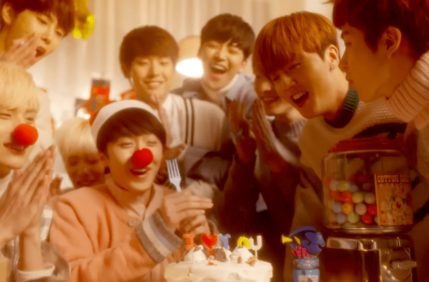 """SF9 Releases New Christmas MV """"So Beautiful"""""""
