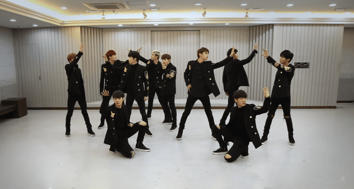 """WATCH: UP10TION Goes Hard In """"Orchestra Ver."""" Dance Practice Of """"White Night"""""""