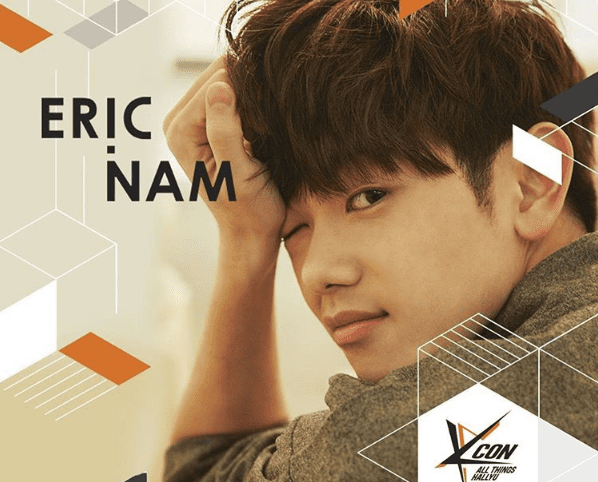 Eric Nam Is The Next Artist On The Lineup For KCON MEXICO