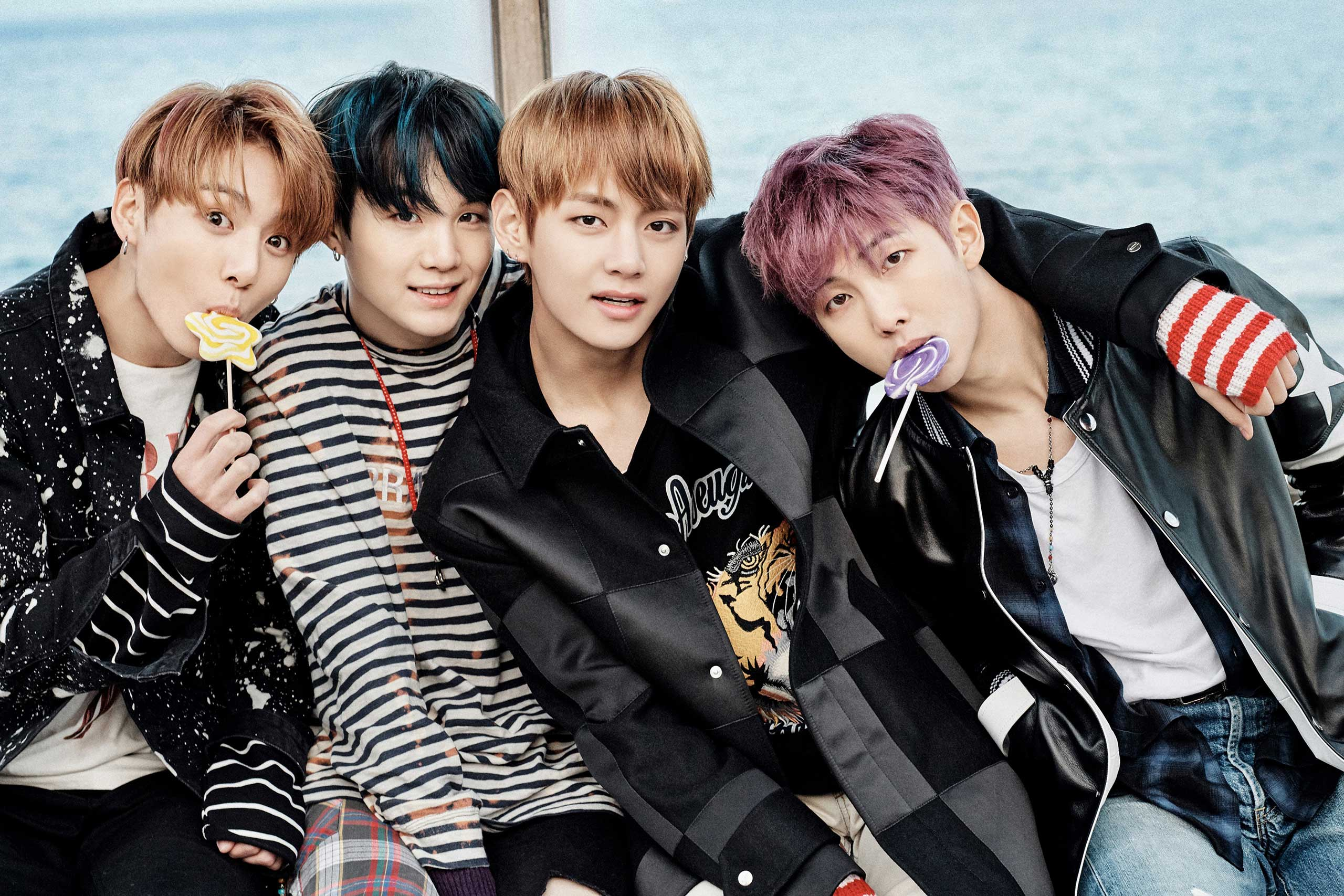 Bts chills at a bus stop in new set of teaser images wtk stopboris Choice Image