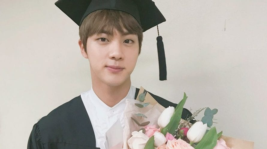 BTS's Jin Celebrates University Graduation With Members And Fans