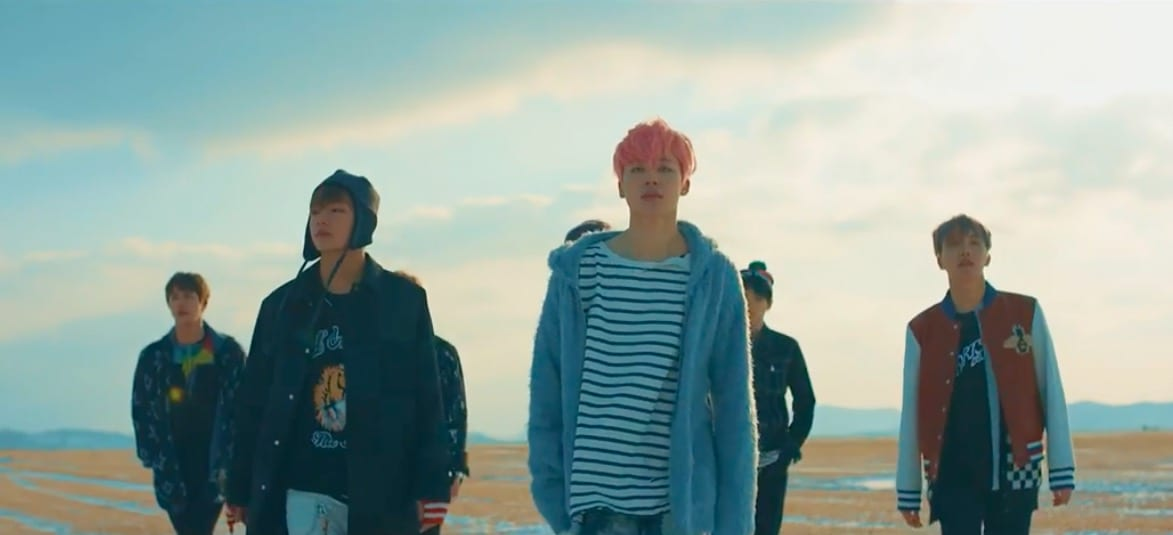 "BTS Releases New MV ""Spring Day,"" Achieves All-Kill Status Within Hours"