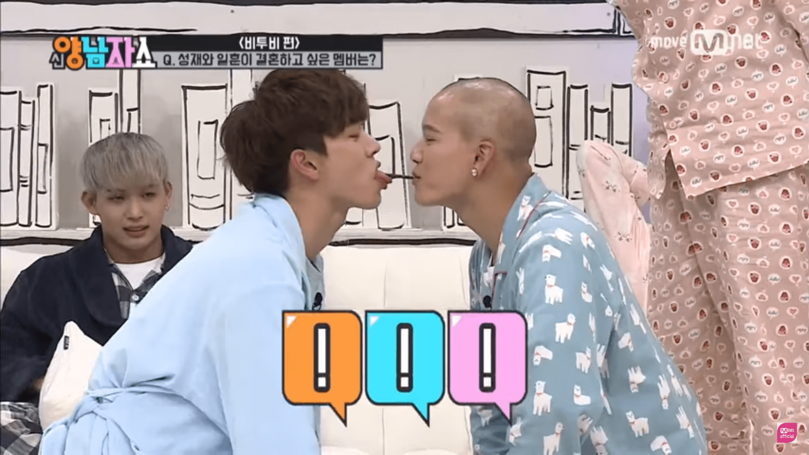 WATCH: BTOB Brings Laughter To Variety Show With Pepero Game And More