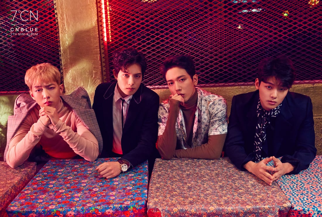 """CNBLUE Releases Sexy New Teasers For """"7℃N"""" Album"""