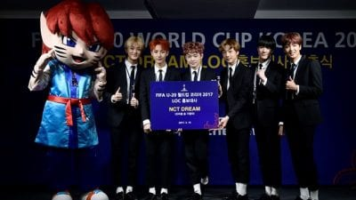 NCT Dream Releases New Song For FIFA U-20 World Cup