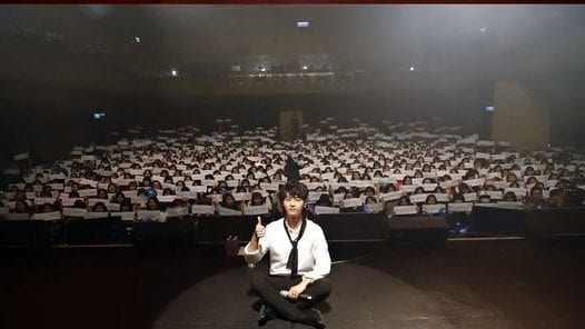 """VIXX's N Holds First Solo Fan Meeting """"N With You"""""""