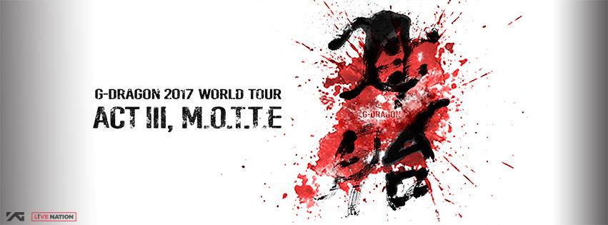 """G-Dragon Announces Cities For """"2017 World Tour ACT III: M.O.T.T.E"""""""
