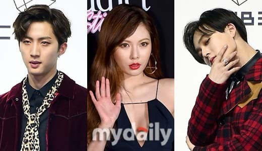 """HyunA And PENTAGON's Hui And E'Dawn To Form New Unit """"Triple H"""""""