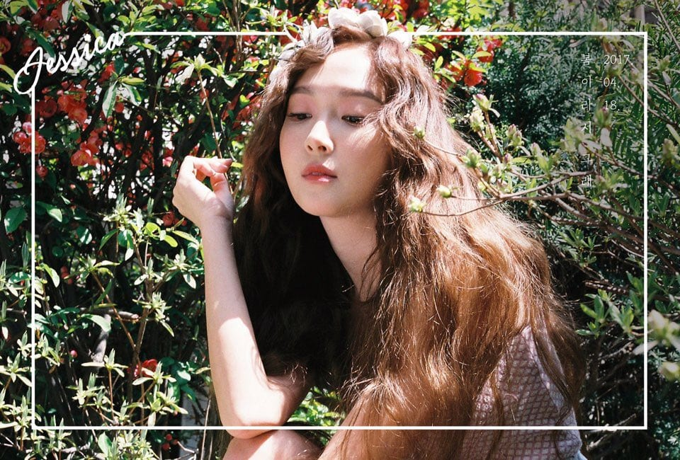 Jessica Jung Announces Comeback Through Spring Teaser Images