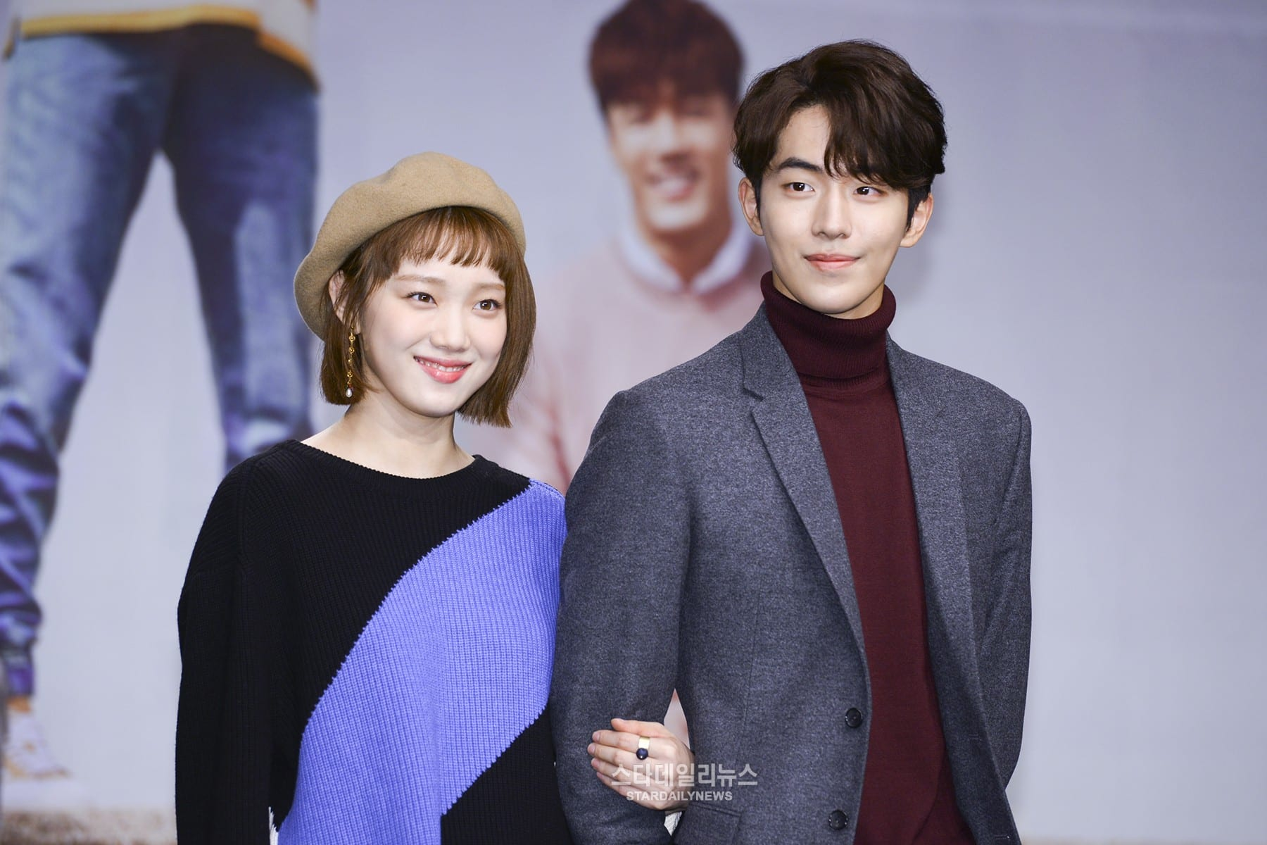"Dispatch Releases ""Dating"" Pictures Of Nam Joo Hyuk And Lee Sung Kyung"