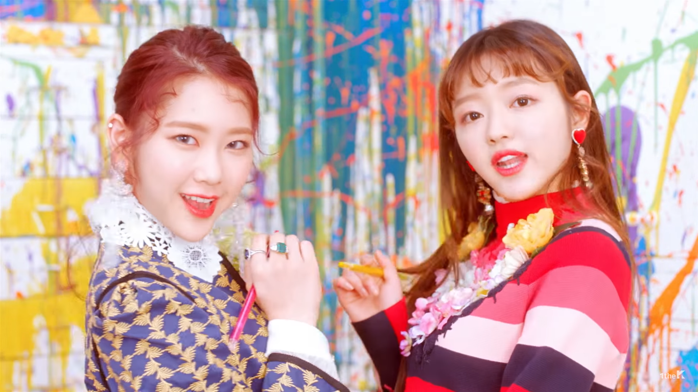 "WATCH: Oh My Girl Brightens Up Their Day With New ""Coloring Book"" MV"