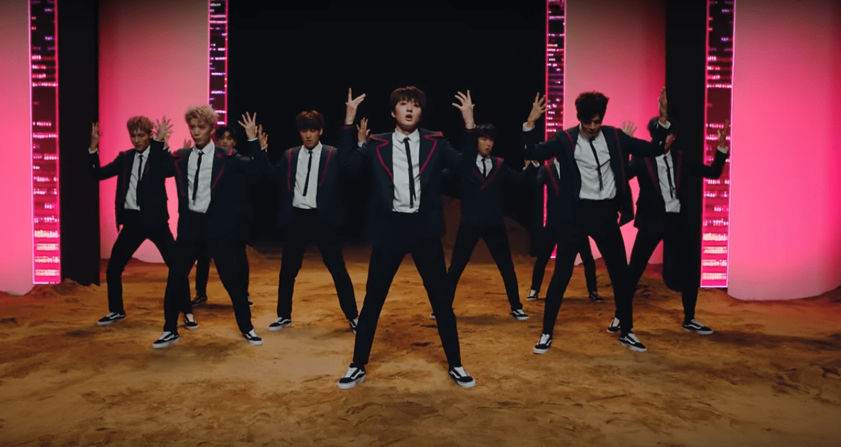 "WATCH: SF9 Shines In Powerful ""Easy Love"" MV"