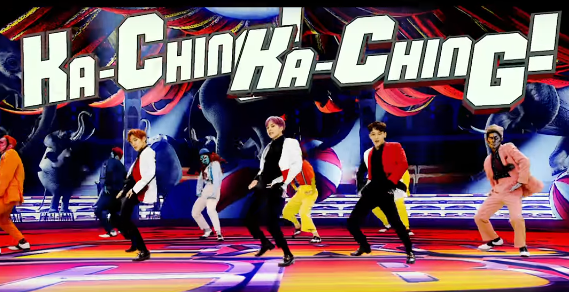 "WATCH: EXO-CBX Drops Funky ""Ka-CHING!"" MV For Japanese Debut"