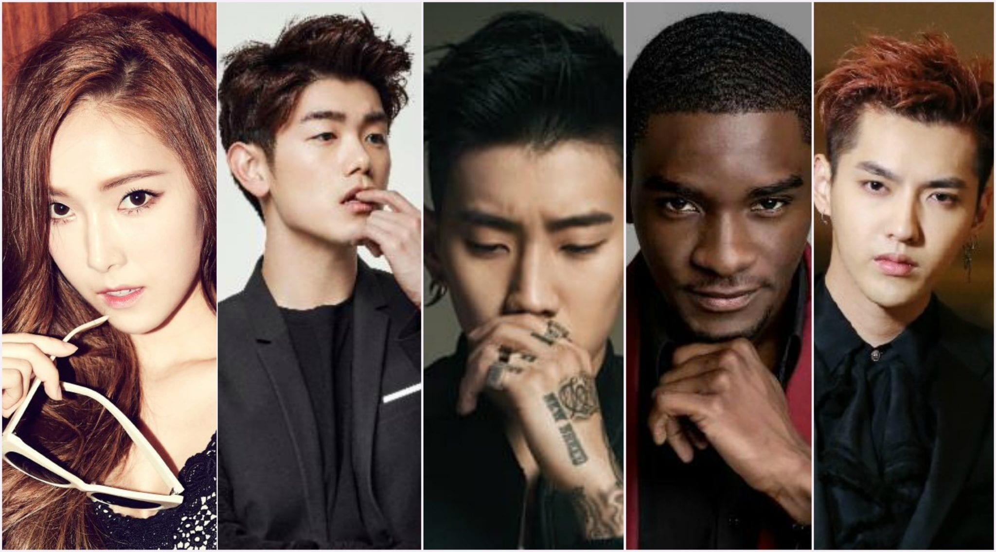 "Jessica Jung, Eric Nam, Jay Park, Samuel Okyere and Kris Wu Named in Forbes ""30 Under 30 Asia"" List"