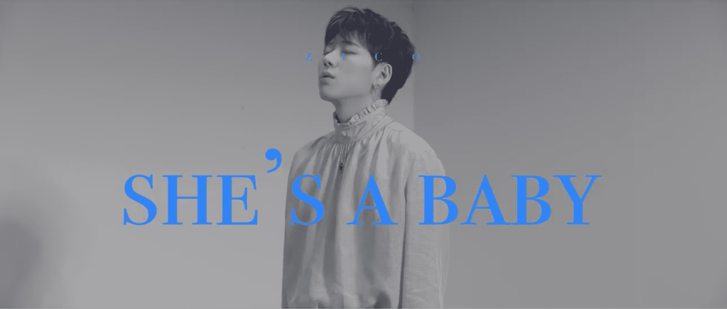 """WATCH: Zico Releases First Teaser For Official MV """"SHE'S A BABY"""""""