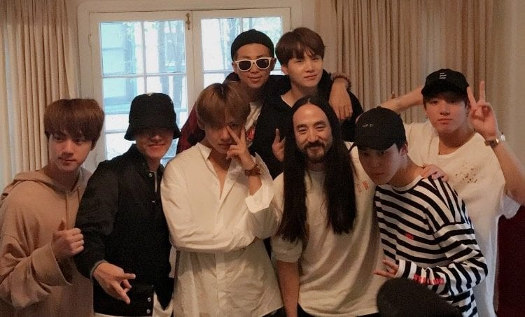 BTS To Collaborate With Famous Producer And DJ Steve Aoki