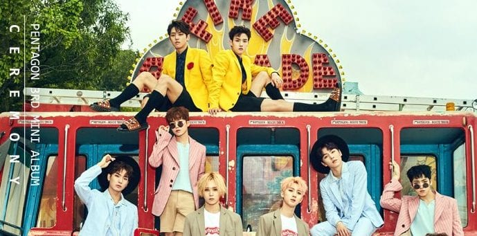 PENTAGON Pairs Off In New Concept Photos For Comeback