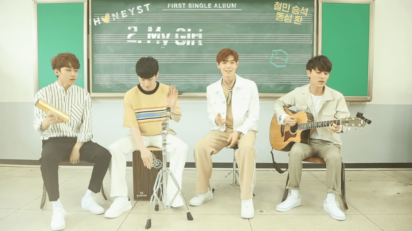 WATCH: HONEYST Teases For Debut With Unique Acoustic Medley