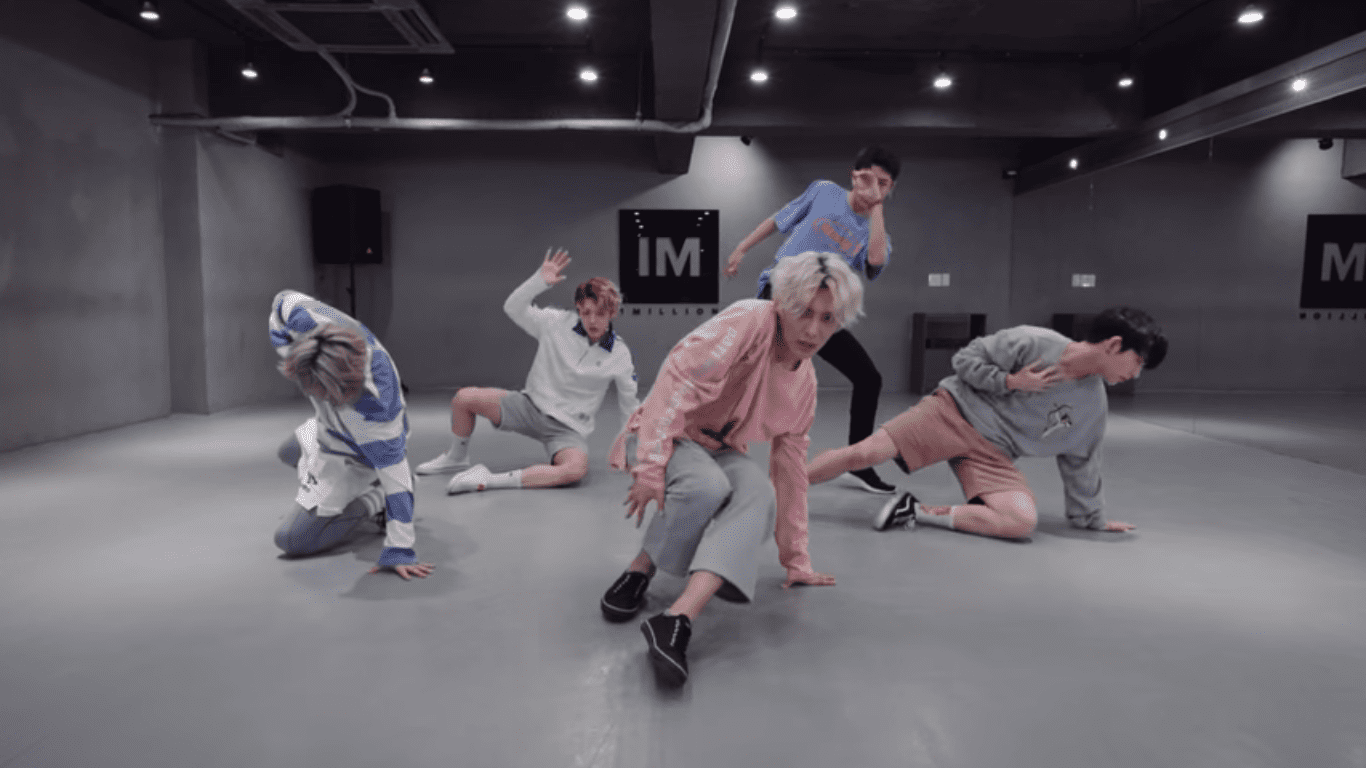 WATCH: Rookie Group A.C.E Shows Off Choreography At 1MILLION Studio