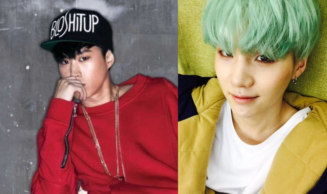 Tablo Shares Picture That BTS's Suga Sent Him From The U.S.