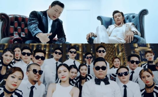 """WATCH: PSY Releases Quirky """"I LUV IT"""" And """"New Face"""" MVs + Achieves All-Kill On Charts"""