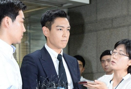 T.O.P Admits All Charges Against Him During First Trial