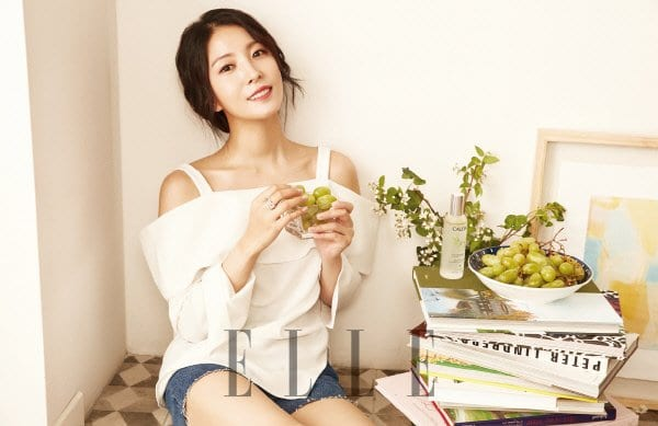 BoA Stuns In July Issue Of ELLE Magazine