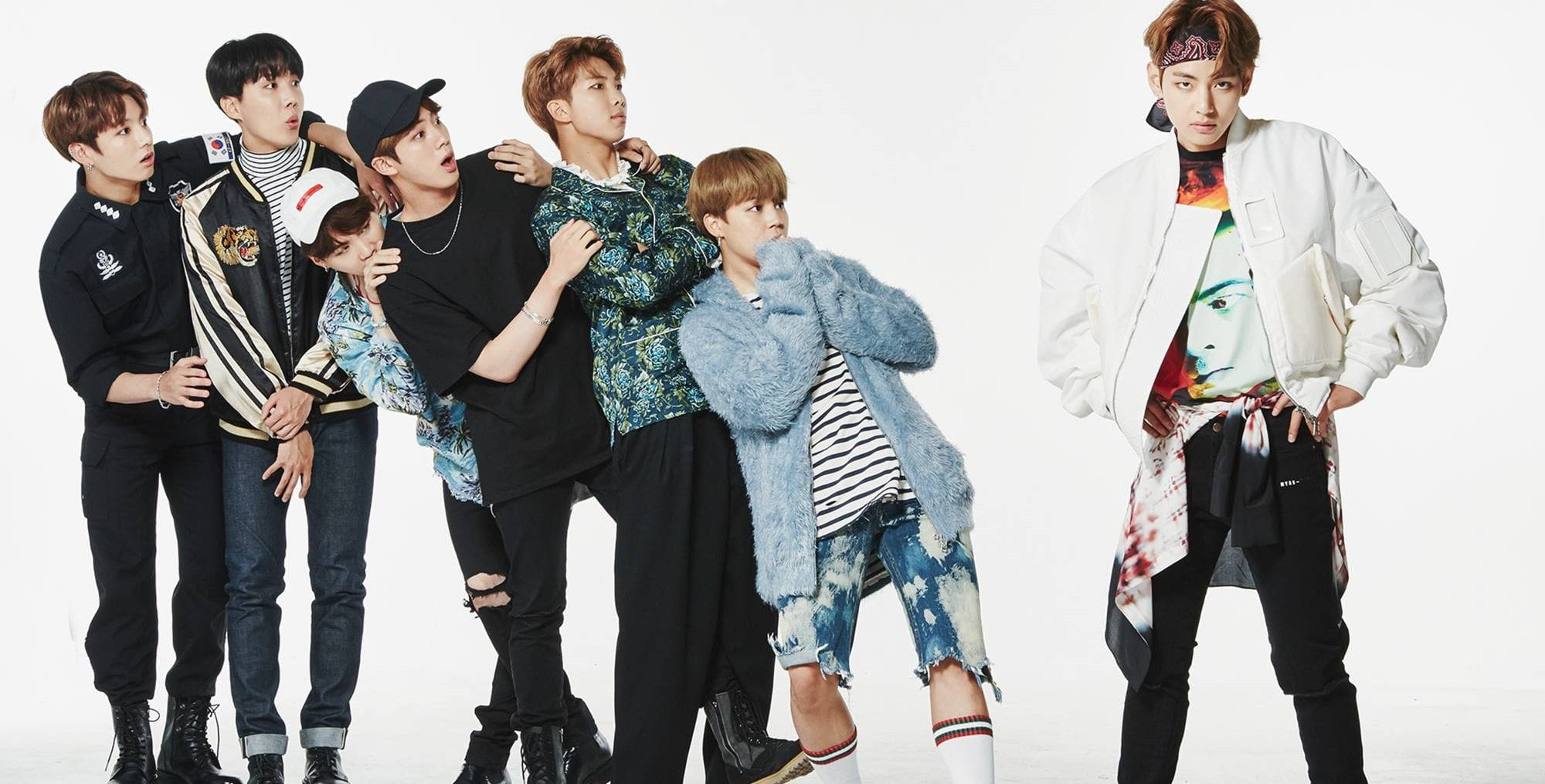 BTS Releases Fun U0026quot;Familyu0026quot; Pictures In Outfits Through The Eras | WTK