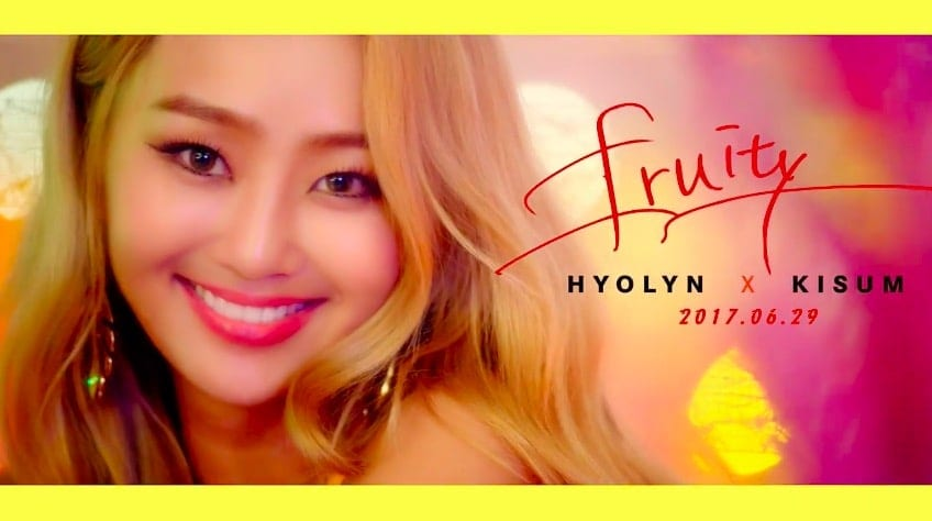 """WATCH: Hyolyn And Kisum Get Ready For Summer In """"Fruity"""" Teaser"""