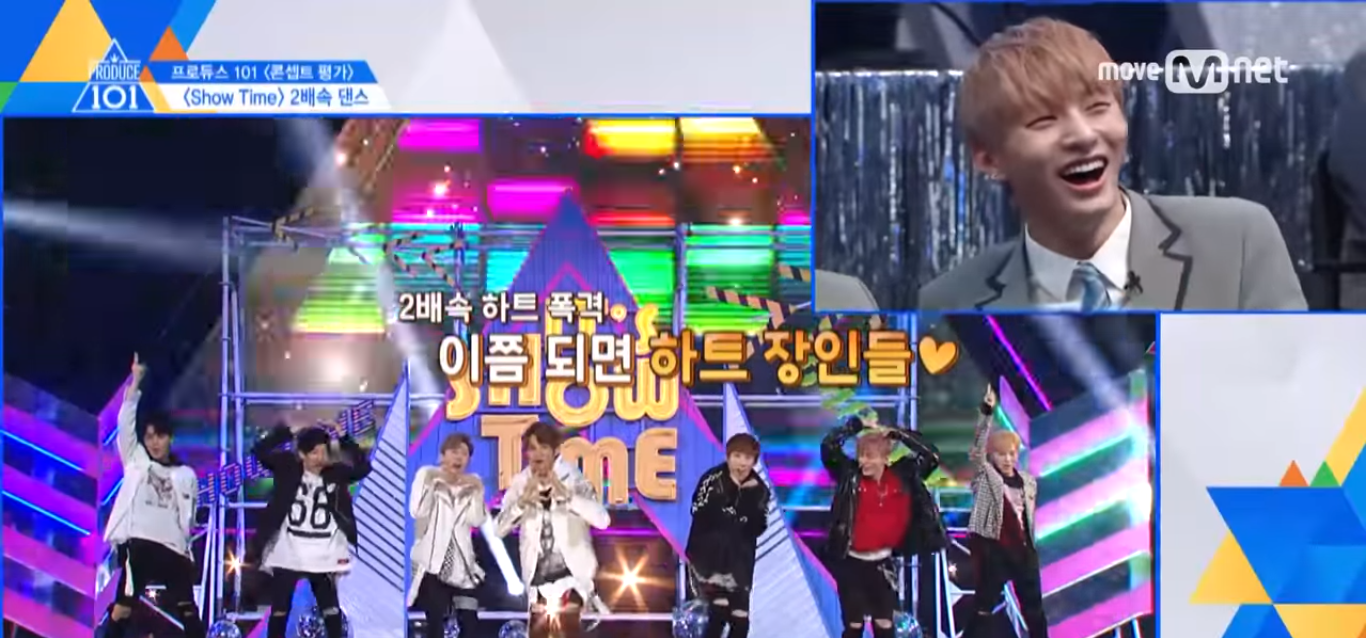 """Produce 101: Season 2"" Trainees React To Their Double Speed Dance Routines"