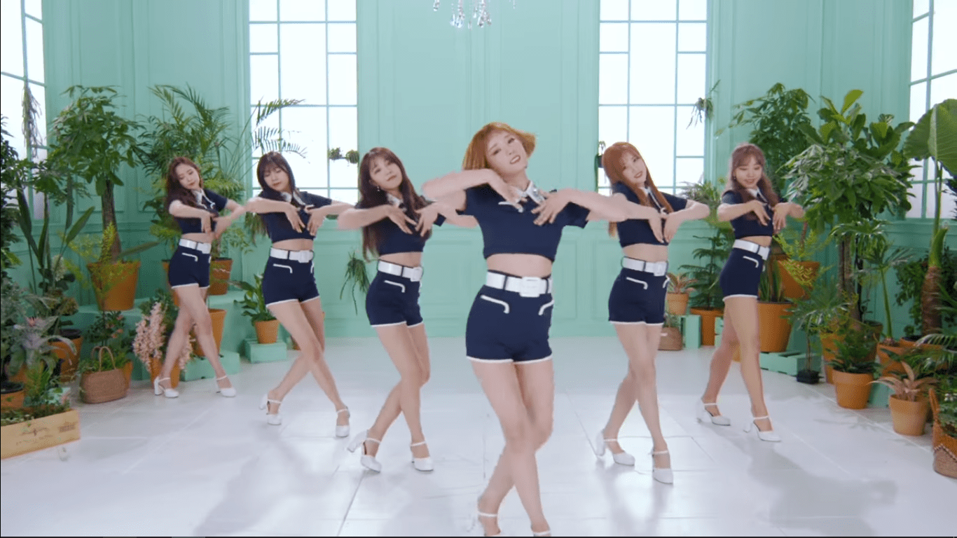 "WATCH: Apink Shines In New ""FIVE"" MV"