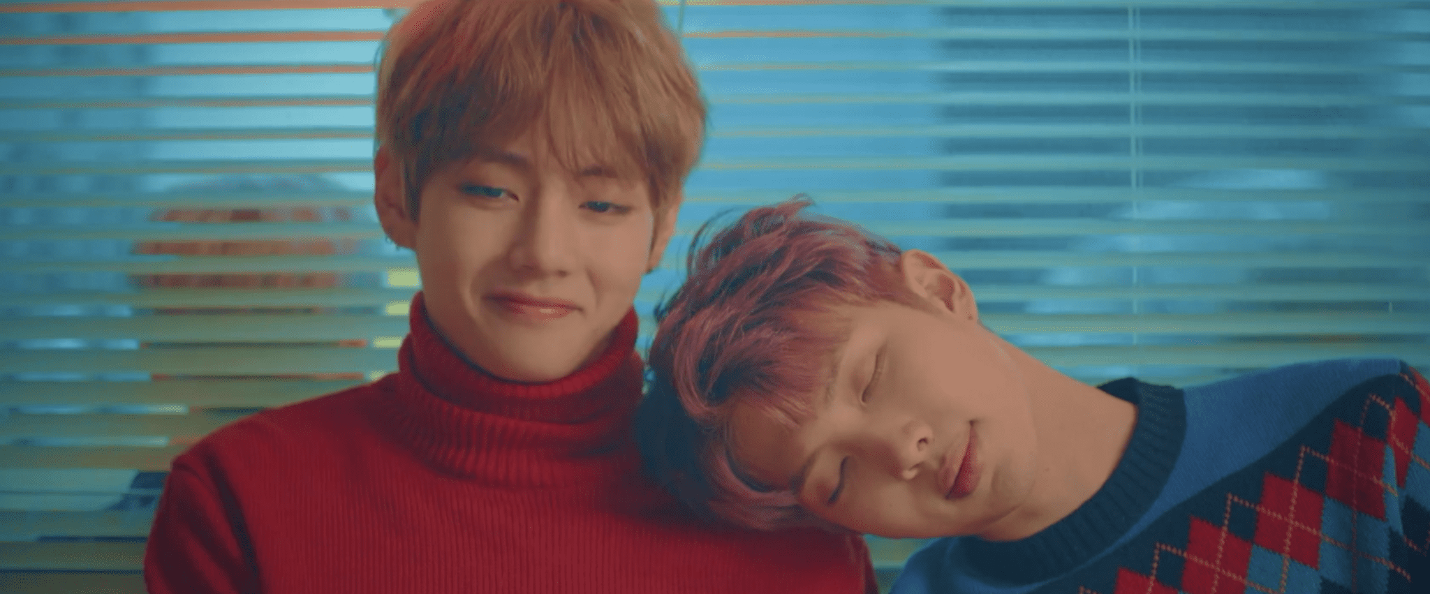 """LISTEN: BTS's V And Rap Monster's Self-Produced Song """"4 O'Clock"""" Is Literal Poetry"""