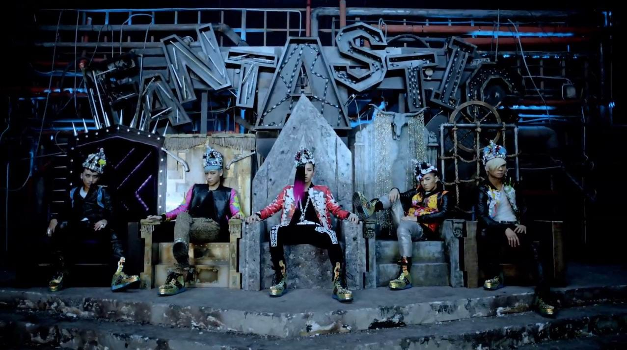 """BIGBANG Becomes First Kpop Group To Earn 300 Million MV Views With """"Fantastic Baby"""""""