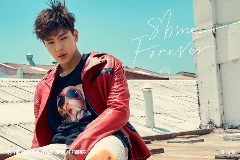 MONSTA X Drops Individual Teaser Images Of Shownu