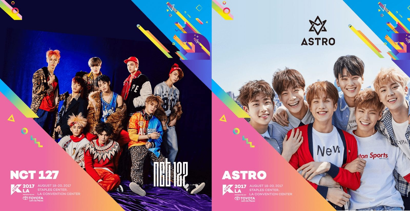 NCT 127 And ASTRO Join Artist Lineup For KCON LA