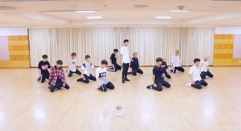 """WATCH: SEVENTEEN Releases """"Don't Wanna Cry"""" Dance Practice Videos"""